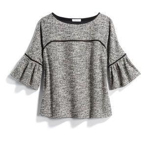 Calvin Klein NWT Balson Bell Sleeve Blouse